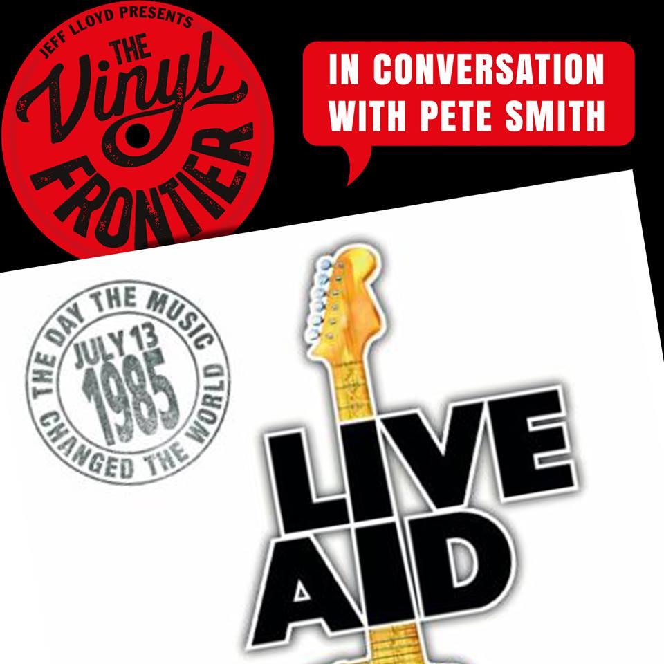 Vinyl Frontier Live Aid banner